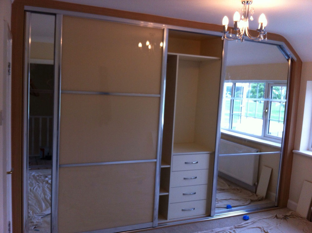 Fitted Sliding Wardrobe installed in any Space